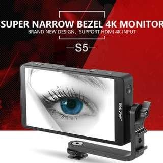 🚚 Bestview S5 4K Monitor | 5.5 inch | Thin | 1920*1080 | Videography Accessories