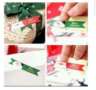 Seal Sticker - Merry Christmas