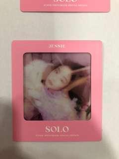 Jennie solo photobook photocard