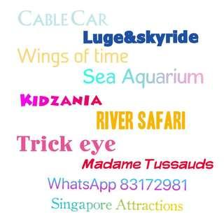 Cheapest attraction tickets