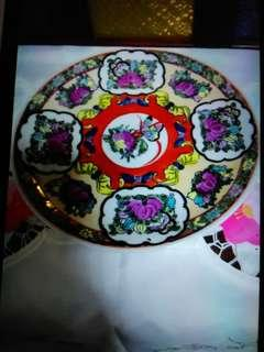 """10"""" Chinese porcelain plate"""