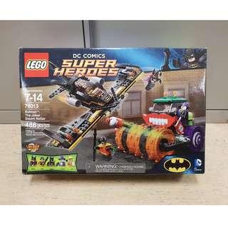 Lego 76013 Batman The Joker Steam Roller DC Comics Batgirl Robin - Brand New MISB box has creases