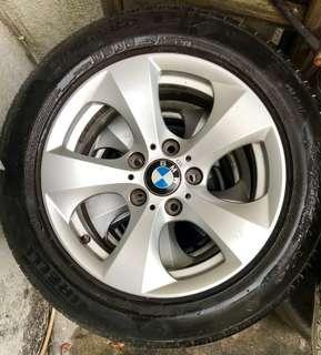 超平BMW寶馬F30原裝呔軨一套連Pirelli P7