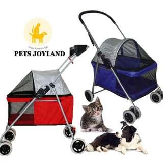 Single Bassinet Anti-UV Pet Stroller