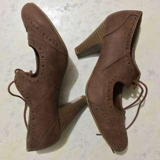 New Look brown heels