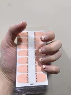 🚚 現貨❗️1⃣️張 指甲貼片 操作超簡單❗️