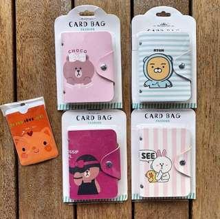 Christmas Gift 🎁: Line friends / Ryan Korean bear card holder