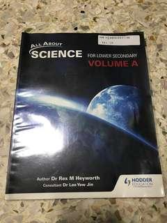 WTS All About Science Volume A Textbook