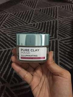 Loreal pure clay illuminating