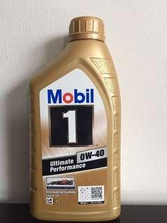 Mobil 1 Engine Oil 0W-40