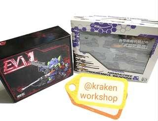 *[SALES]* Evangelion 01 MJH with weapon tower model kit