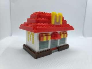 5x McDonald's Nanoblocks Limited Edition Malaysia