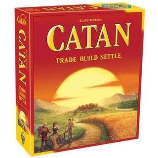 Catan Board Game