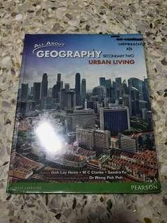 WTS All About Geography Urban Living Textbook Sec 2