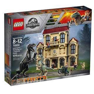 Lego 75930 Jurassic Park Indoraptor Rampage at Lockwood Estate