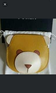Furla coin and card purse