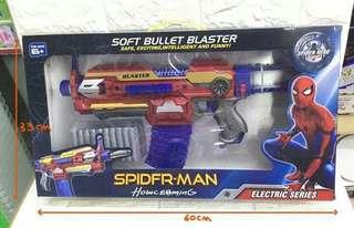 Nerf gun spiderman
