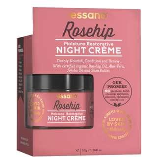 Essano Moisture Restorative Night Creme, 50g (1.7 oz) moisturises and nourishes