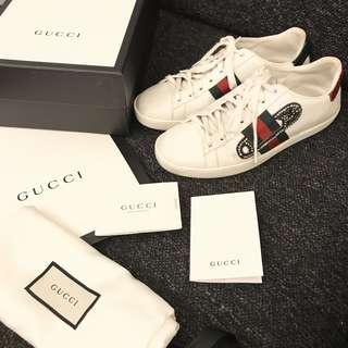 🚚 Gucci 小白鞋