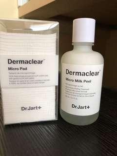 Dr Jart Dermaclear Micro Milk Peel & Pads