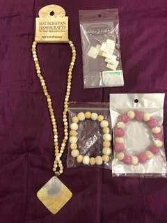 Coral reef ladies jewelries from the Philippines