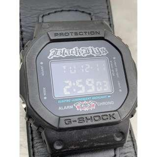 Casio G-Shock x Black Flys Limited Edition DW-5600VT Watch