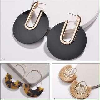 Brand New 3x Earrings