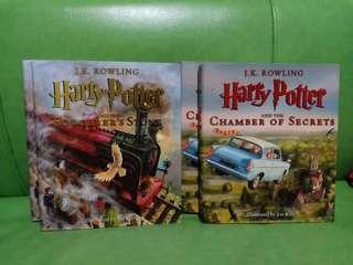 Harry Potter Illustrated #1&2