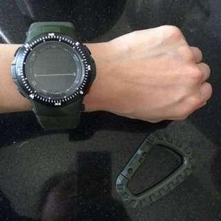Driver Watch Rubber   Wrist Watch digital , stop watch , alarm and stopwatch