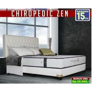 Springbed Chiropedic Zen Bisa Cash&Kredit Cepat 3 Menit