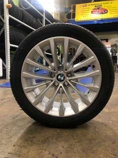 """18"""" BMW Original Rims with Michelin tyres 👍"""
