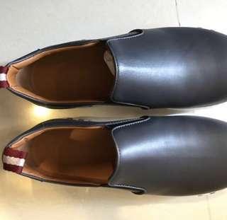ee2e46cad61 Brand new Bally Men Grey slipon leather shoes
