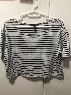 Crop top shirt