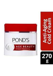Ponds age beauty cold cream