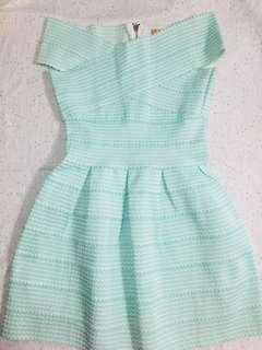 (Reprice) FAB MINT GREEN DRESS
