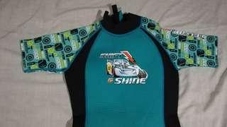 Disney cars movie wetsuit for 6 to 8