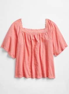 BNIB Gap Jersey tee with lace