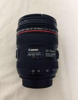 Canon 24-70 F4L