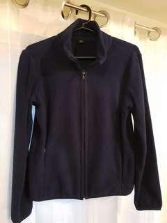 Uniqlo women's fleece full-zip jacket