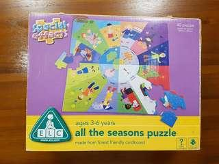Elc four seasons puzzles
