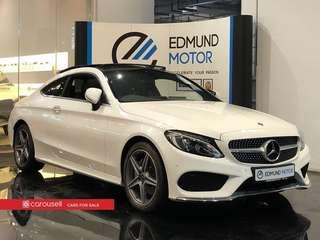 Used Import Mercedes Benz C-Class C200 Coupe AMG Line