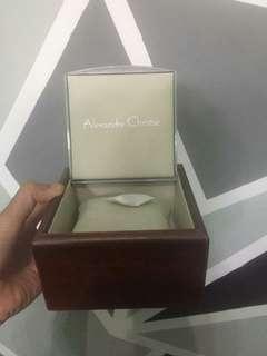 Jam tangan alexandre christie original (box)