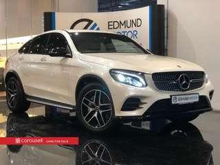 Used Import Mercedes Benz GLC-Class GLC250d Coupe AMG Line 4MATIC