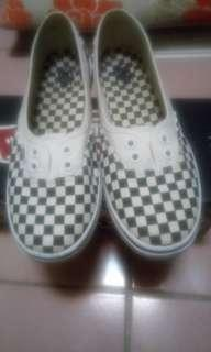 Vans方格鞋