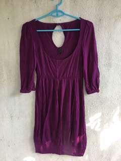 Only Purple Dress