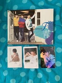 Infinite F - 'Azure' Blue Album