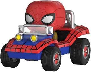 Funko Pop Spider-man with Spider Mobile