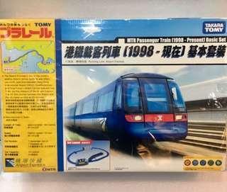 [Last one] Tomica Plarail 港鐵載客列車 [1998-現在] 機場快綫 中古二手 基本套裝 MTR Passenger Train Airport Express Basic Set (Used)