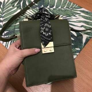ZARA Olive sling Bag