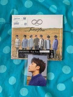 Infinite - For You Japanese Single